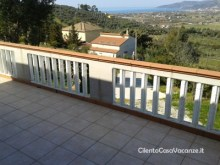 Casa vacanze ad Ascea Marina terrazzo
